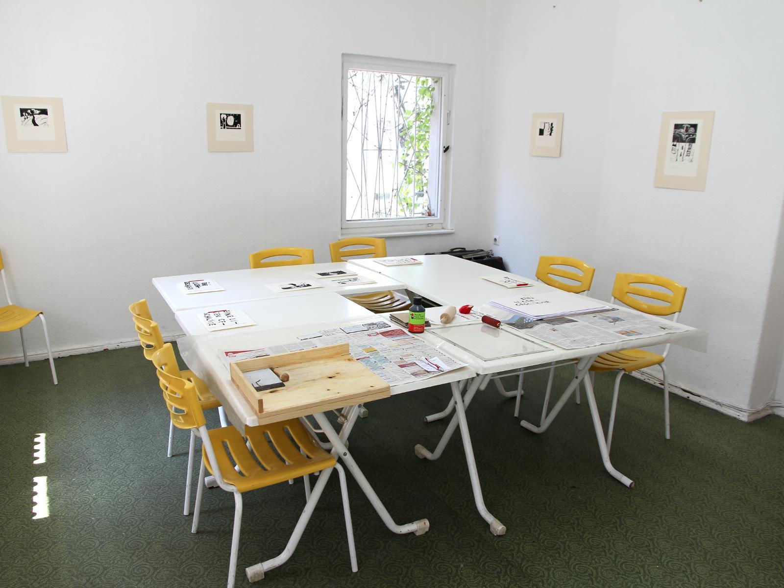 Kunstgespuer Atelierraum