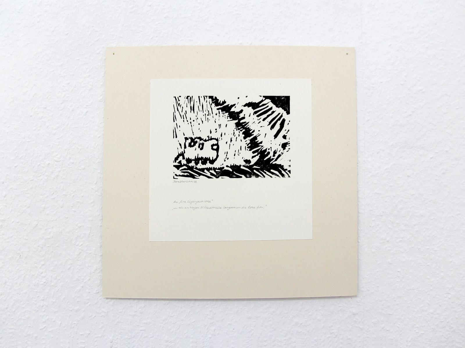 Kunstgespuer Kinderatelier-Ausstellung-Fantasievolle-Druckgrafik-Plastik Luegengeschichte 6