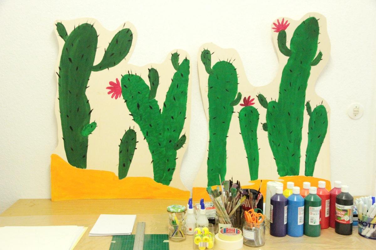 Kunstgespuer Atelier Kaktus Kunstprojekt Cowboy Klaus