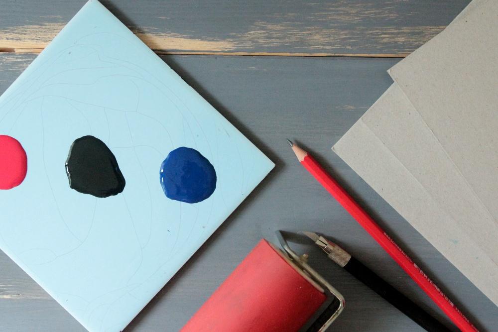 Karton Druckkunst, Kinder-Sommerworkshop, Kunstgespür