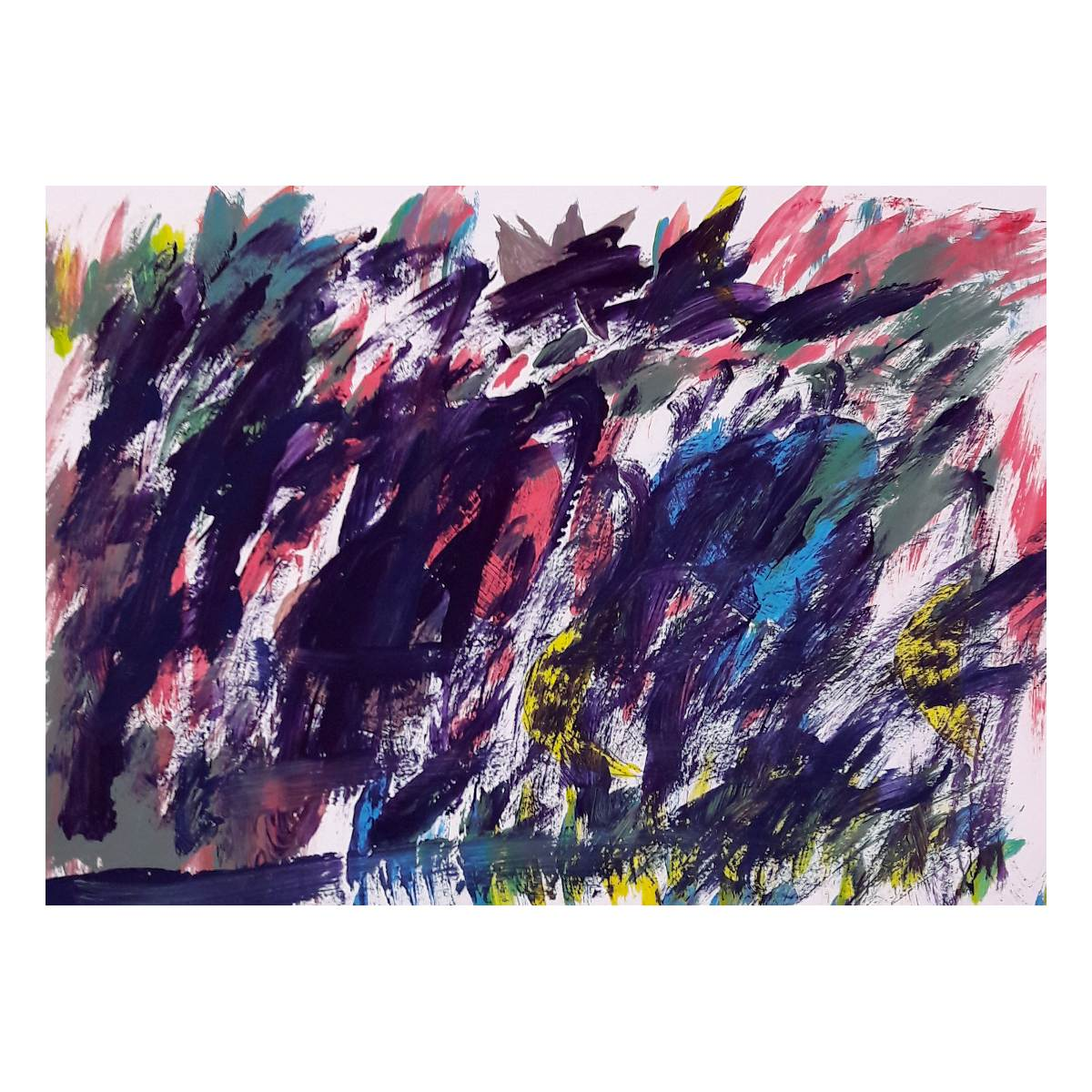 Hanna, Malerei Mischfarben, Atelier Kunstgespür, Berlin-Grünau